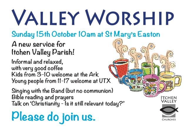 Valley Worship Advert